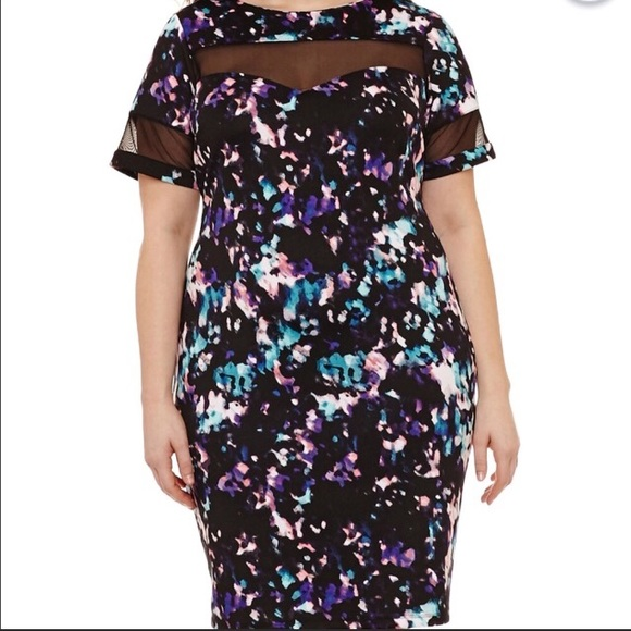 Jc penny plus size dress NWT